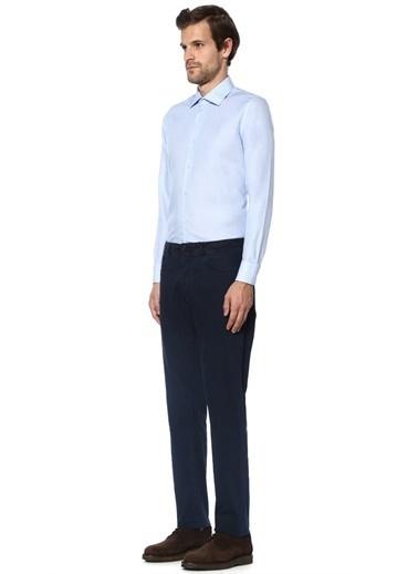 Beymen Club Uzun Kollu Klasik Gömlek Mavi